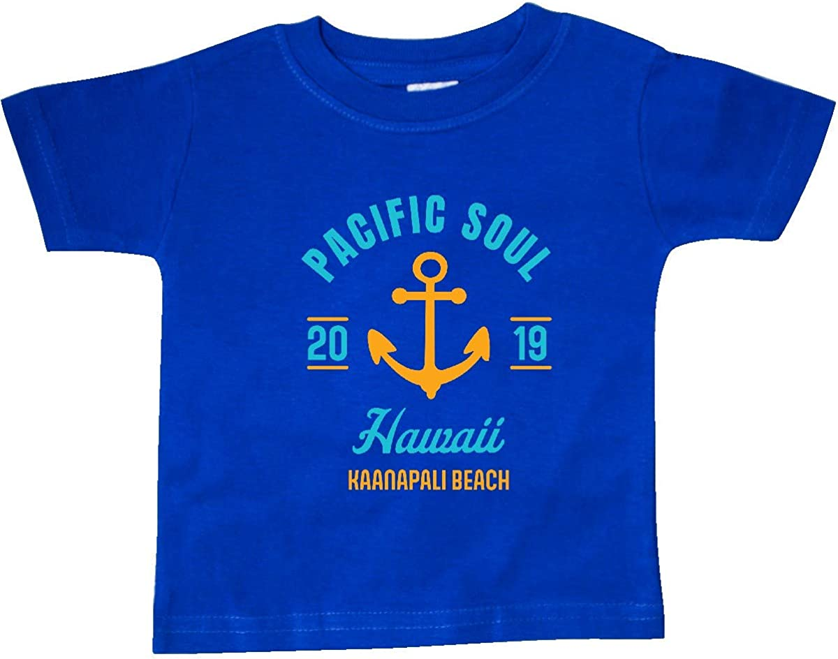 inktastic Pacific Soul Hawaii Kaanapali Beach 2019 with Anchor Baby T-Shirt