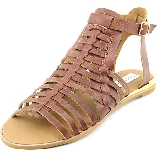 8503bfa5ed8 Steve Madden Women s Comely Huarache Flat Sandals