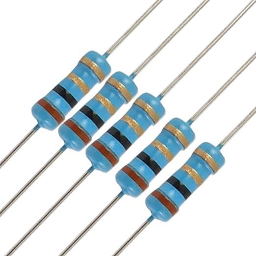 Pack of 50 270r Carbon Film 0.5W Resistor