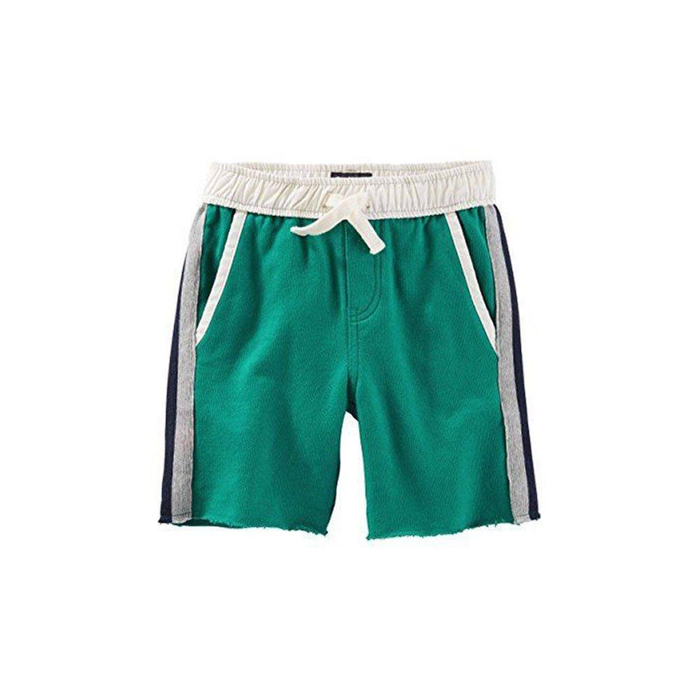Green 5 OshKosh BGosh Boys French Terry Shorts