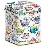 Tea Caddy - Cut Corner - TEAPOTS DESIGN - 10cm