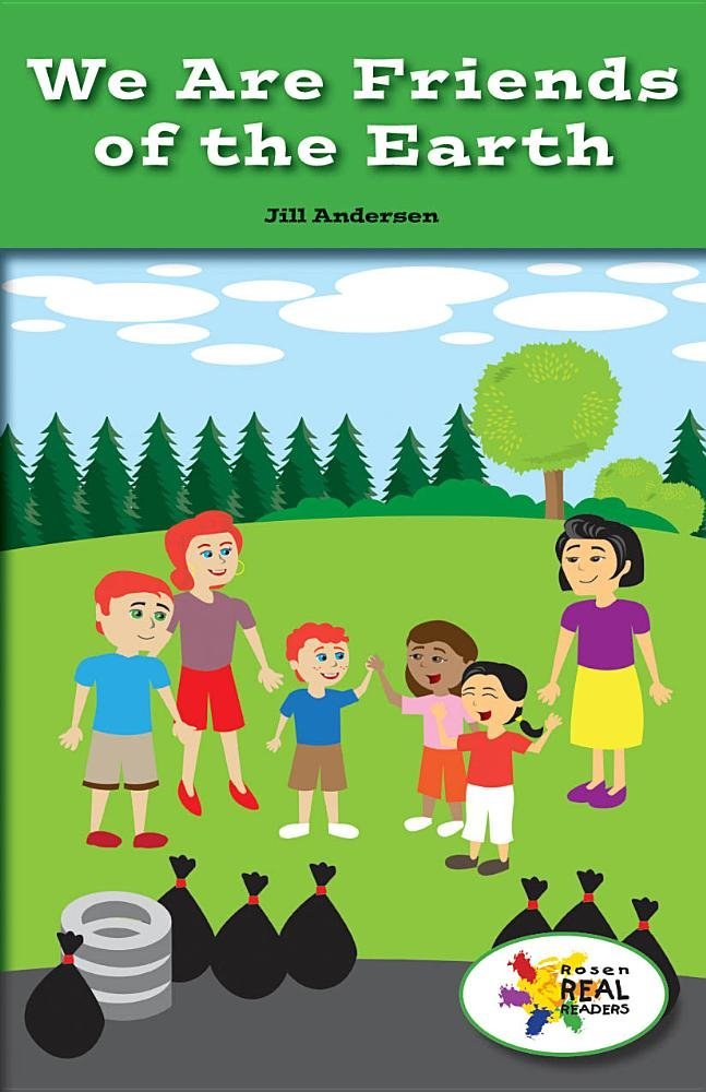Download We Are Friends of the Earth (Rosen Real Readers: Stem and Steam Collection) pdf