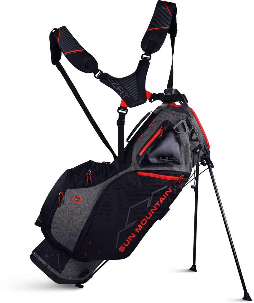 Sun Mountain 2019 4.5 Ls Stand Bag Black/Red