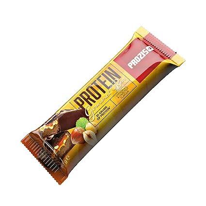Prozis Protein Gourmet Bar 80 g Chocolate y avellanas Fuente De ...
