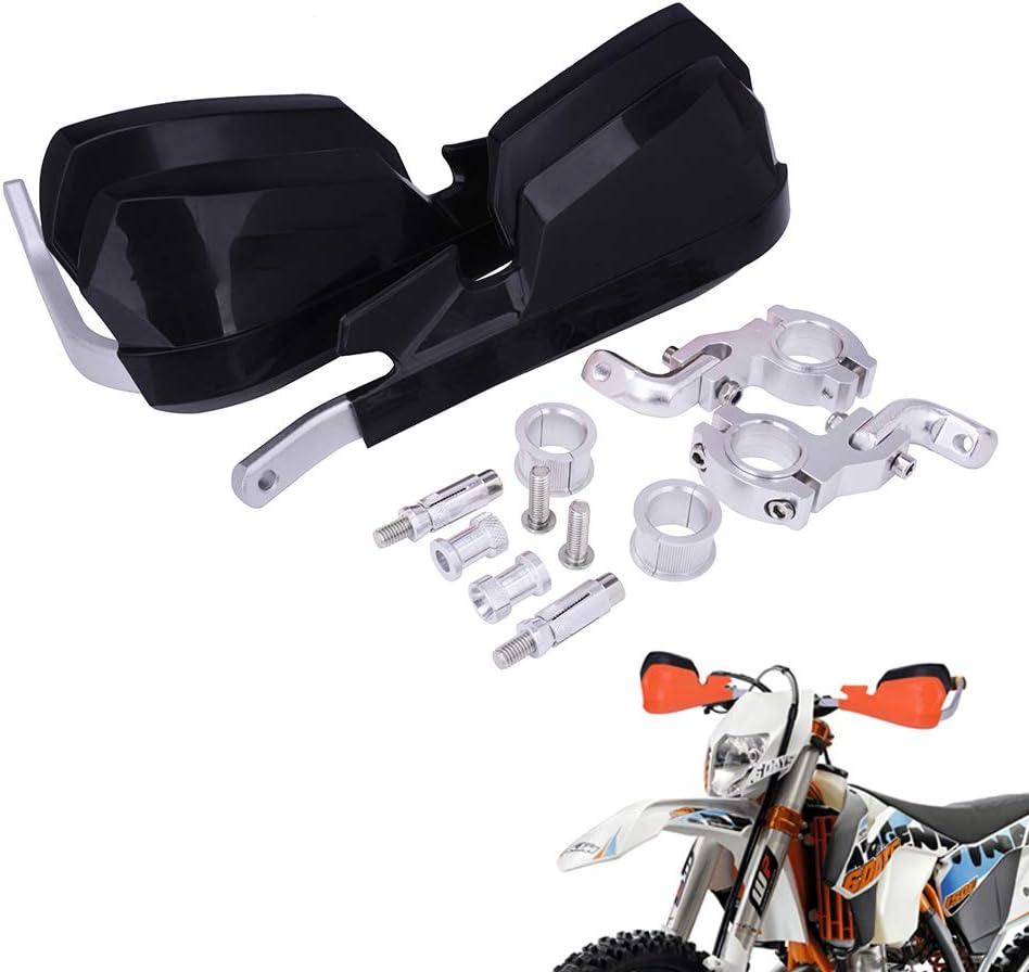 Handschutz Dirt Bike Handschutz Brush Bar Universal Für 7 8 Und 1 1 8 Lenker Für Dirt Bike Rennrad Pit Bike Honda Kawasaki Suzuki Ktm Enduro Supermoto Schwarz Auto