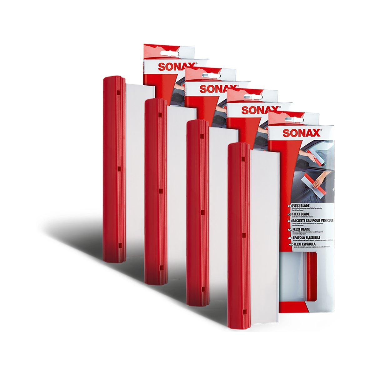 SONAX 4X 04174000 FlexiBlade Wischer Wasser Abzieher Silikon 1 Stü ck