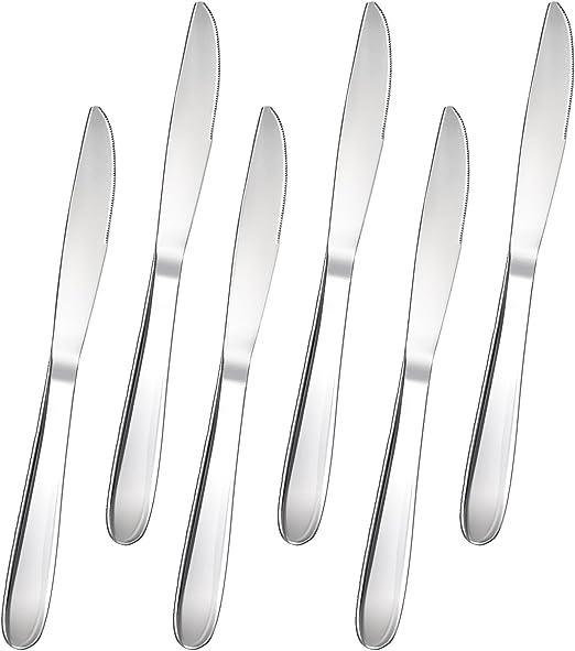 FOXAS Juego de Cuchillos de Mesa Cena para Untar Pan Tomate ...
