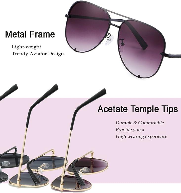 5856f6a10 Eyerno Mirrored Aviator Sunglasses For Men Women Fashion Designer UV400 Sun  Glasses