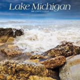 Lake Michigan 2020 12 x 12 Inch Monthly Square Wall Calendar, USA United States of America Travel Scenic Great Lakes