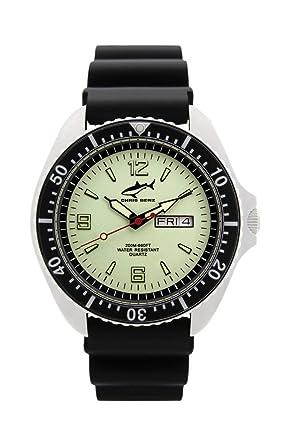 Chris Benz One Man CBO-N-SW-KB Reloj elegante para hombres Reloj de Buceo: Amazon.es: Relojes