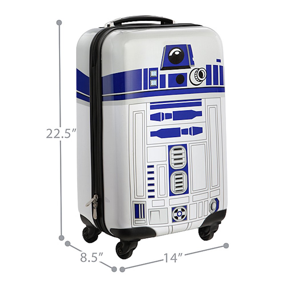 Star Wars R2-D2 Carry-On Luggage by