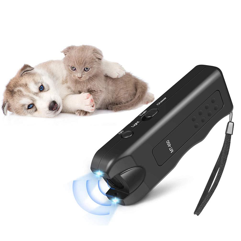 APlus+ Handheld Dog Repellent, Ultrasonic Infrared Dog Deterrent, Bark Stopper + Good Behavior Dog Training by APlus+