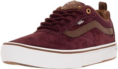 Vans Kyle Walker Pro Skate Shoes Red Dahlia