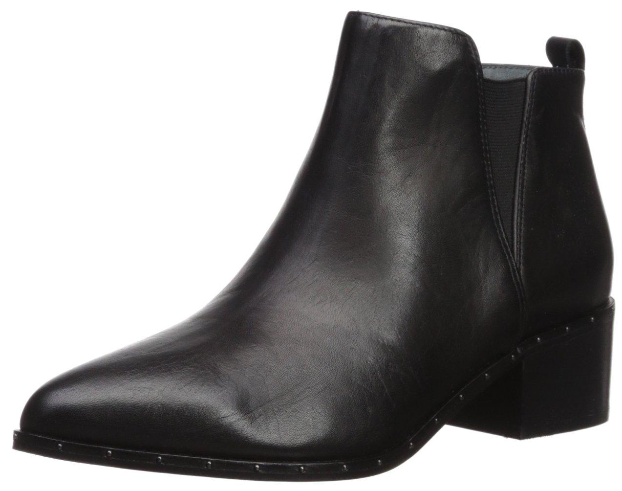 Carlos by Carlos Santana Women's Ginger Ankle Boot, Black, 8.5 Medium US