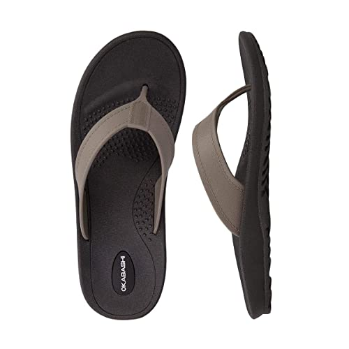 The Okabashi Men's Mariner Flip Flop travel product recommended by Mackenzie Attridge on Lifney.