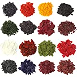 AOND 16 Color Wax Dye for Candles DIY Natural Soy Dyes Candle Wax Dye Flakes Kit for Making Scented Candles or DIY