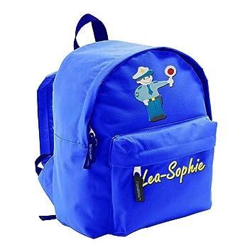 Kinder Kindergarten Rucksack mit Aufdruck Pferd Name Wunschname 8 Farben