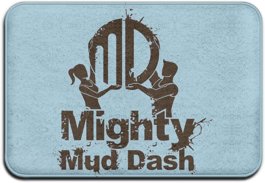 Door Floor Mat Area Rug Anti-Skid Foot Pad Mighty Mud Dash Absorption Doormats For Home Indoor Outdoor Kitchen Bathroom Entry Clean Step