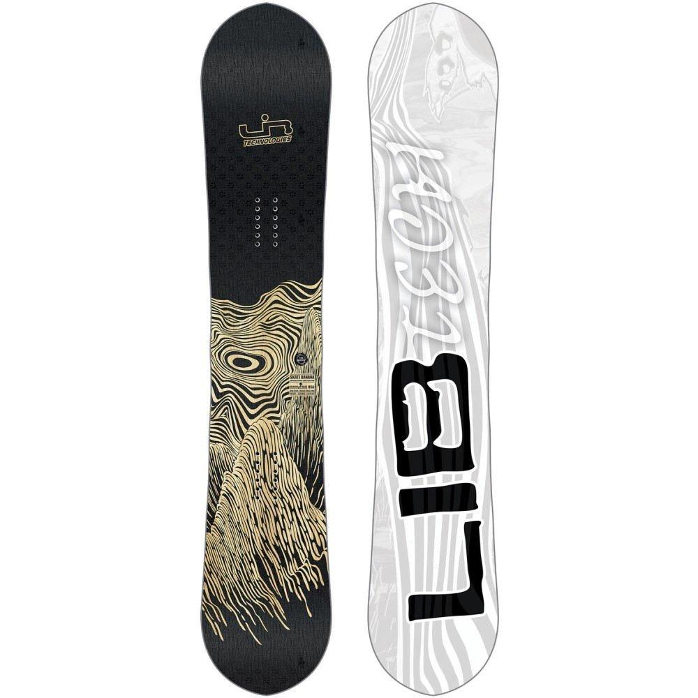 (リブテック) Lib Tech ユニセックス スキースノーボード ボード板 Skate Banana Wide Snowboard 2019 [並行輸入品] B07FC9B9TP 156cm(W)