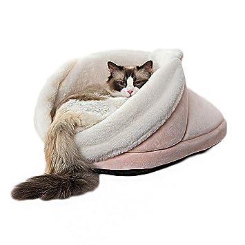Zapatilla para Gatos Cama para Perros Perrera Cama para Gatos Cama para Gatos Cama Suave Y Cómoda, Antideslizante, Mordedura, Suministros para Mascotas: ...