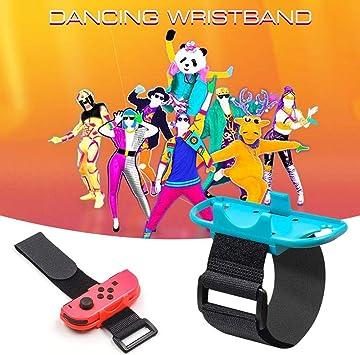 Happt Juego de 2 Pulseras Ajustables Just Dance, compatibles con ...