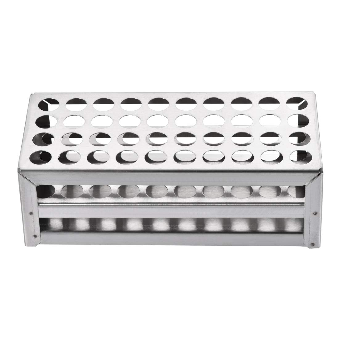 uxcell Stainless Steel Test Tube Holder Rack 40 Hole 3 Layer for 10-13mm Tubes