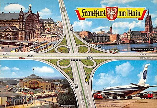 Mainpartie Und Dom Rhein Main Flughafen Frankfurt Am Main Germany Postcard At Amazon S Entertainment Collectibles Store
