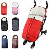 CozyMe Universal Winter Stroller Footmuff,Waterproof Toddler Travel Gear Sleeping Bag, Anti-Slip,Length Extendable,Multifunct