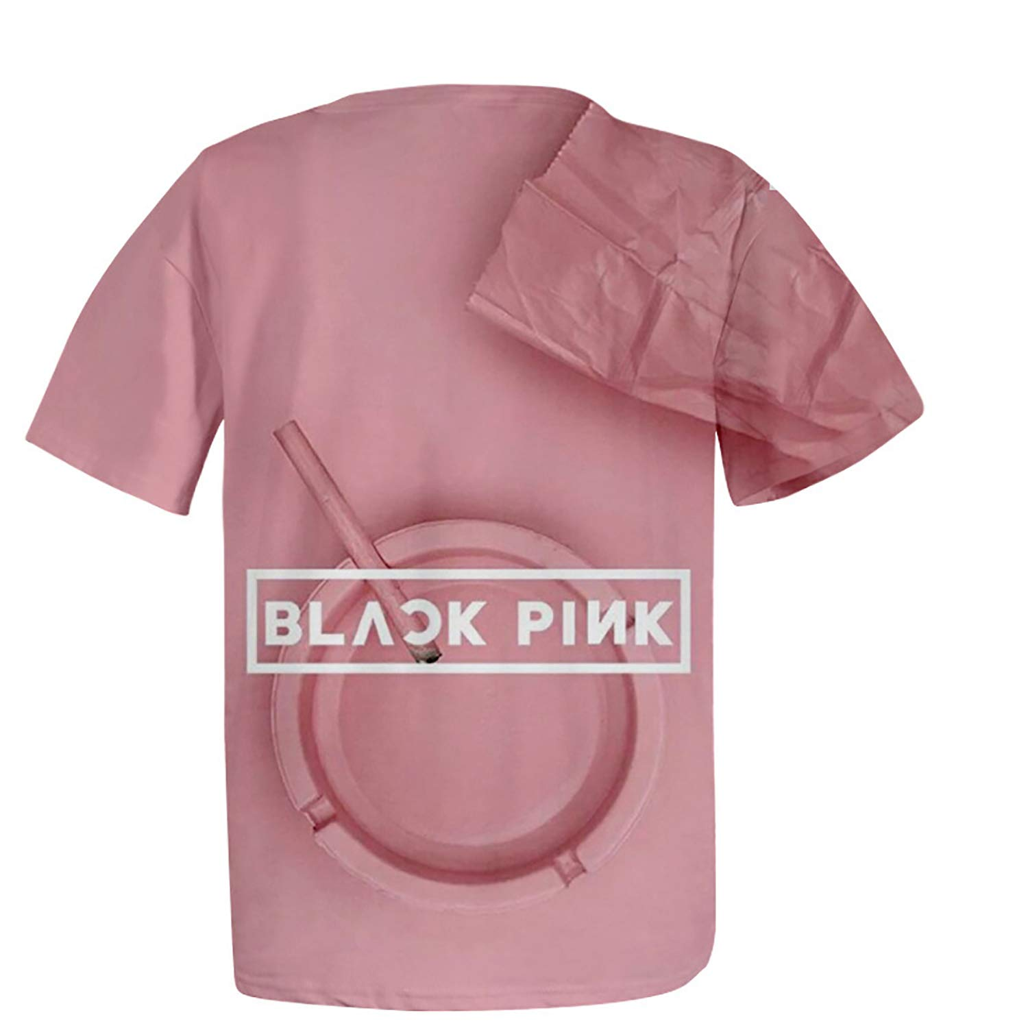 JUNG KOOK Kpop Blackpink 3D Shirt Jisoo Jennie Rose Lisa Jisoo T-Shirt Tee