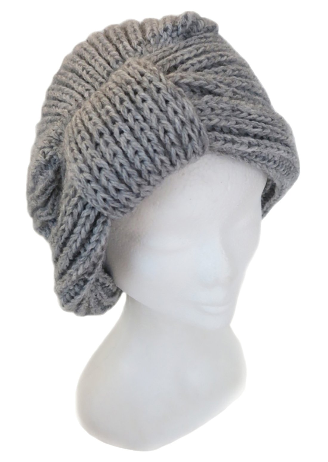 Custom Made Knitted by Hand BARBERY Turban Inspired Alpaca Hat
