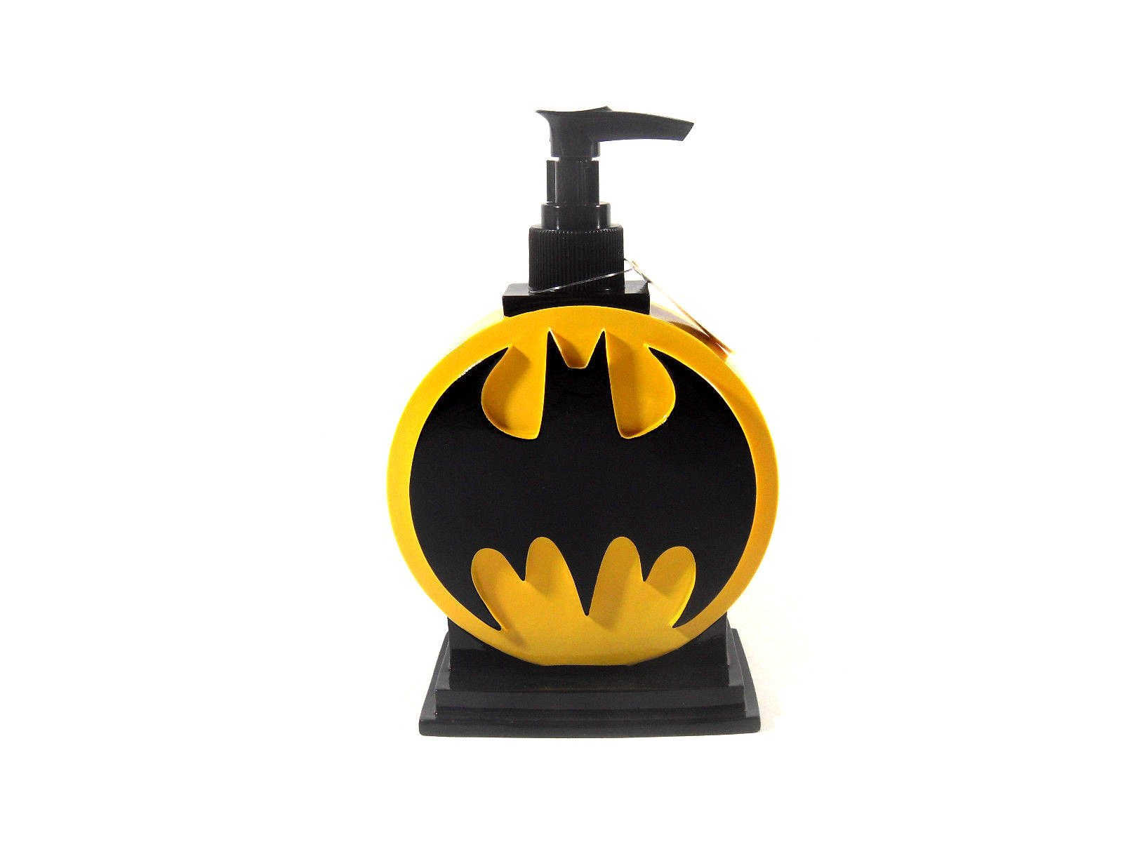 Batman Bathroom Set, Shower Curtain, Hooks, Bath Rug, Bath Towel, Pump Lotion, Toothbrush Holder by Batman (Image #3)