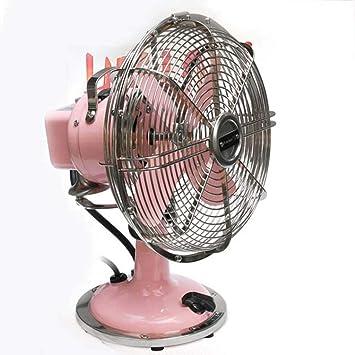 Práctico Ventilador Eléctrico, Ventilador Retro de 8 Pulgadas para ...
