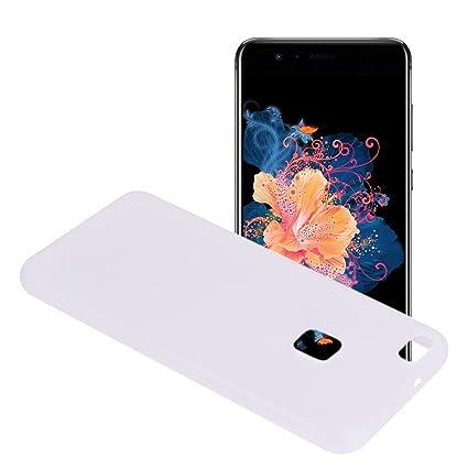 Yunbaozi Funda para Huawei P10 Lite, Protective Case Carcasa Caucho Funda para Protectora de Silicona Caramelo Ultra Suave Flexible Delgado Carcasa ...