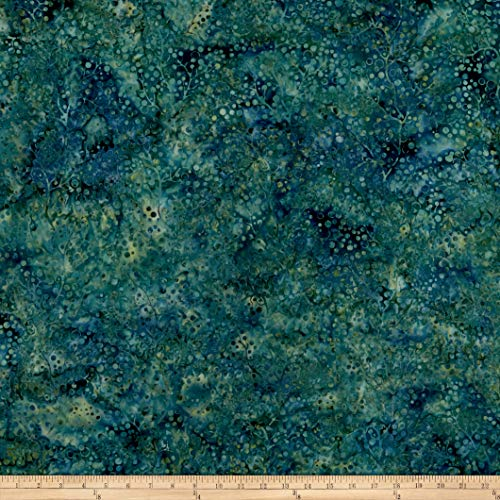 Island Batik Twilight Chic Berry Vine Pineneedle, Fabric by the Yard ()