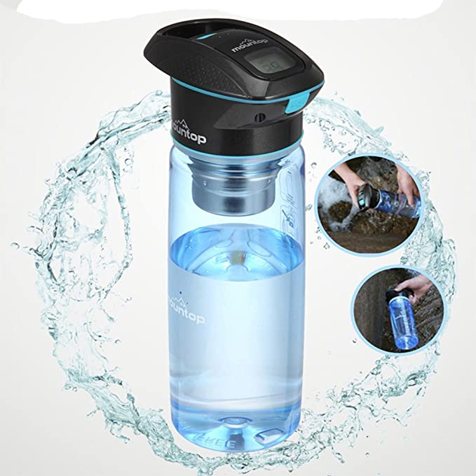 mountop purificador de agua portátil (750 ml) – UV sistema de ...