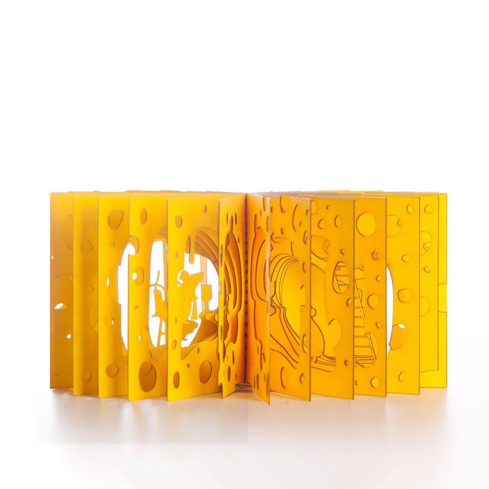 In a Cheese   360° Büchlein & Mobile   Yusuke Oono   Artecnica