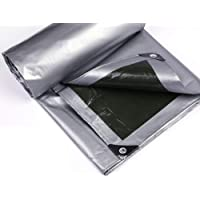 Wang Heavy Duty dekzeil PE plastic schaduwdoek 100% waterdicht 160g/m² grond camping tent cover met oogjes kwaliteit…