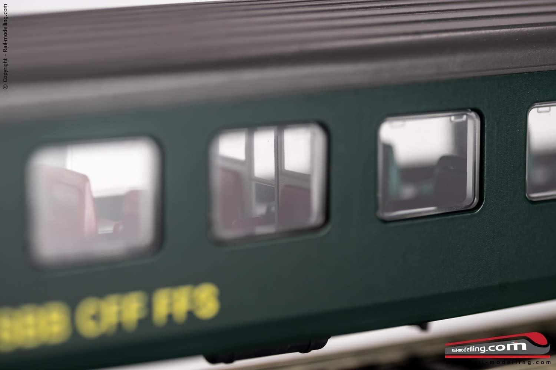 Roco 74571 H0 Schnellzugwagen EW II der SBB 2 Klasse