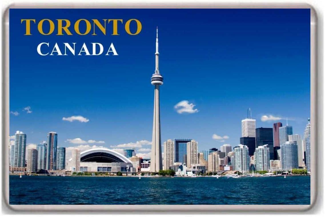 Toronto/City CN Tower/Canada/Fridge/Magnet.!!!