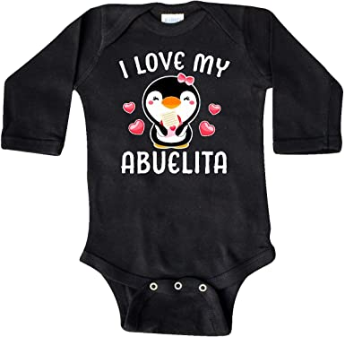 inktastic I Love My Oma with Cute Penguin and Hearts Toddler T-Shirt