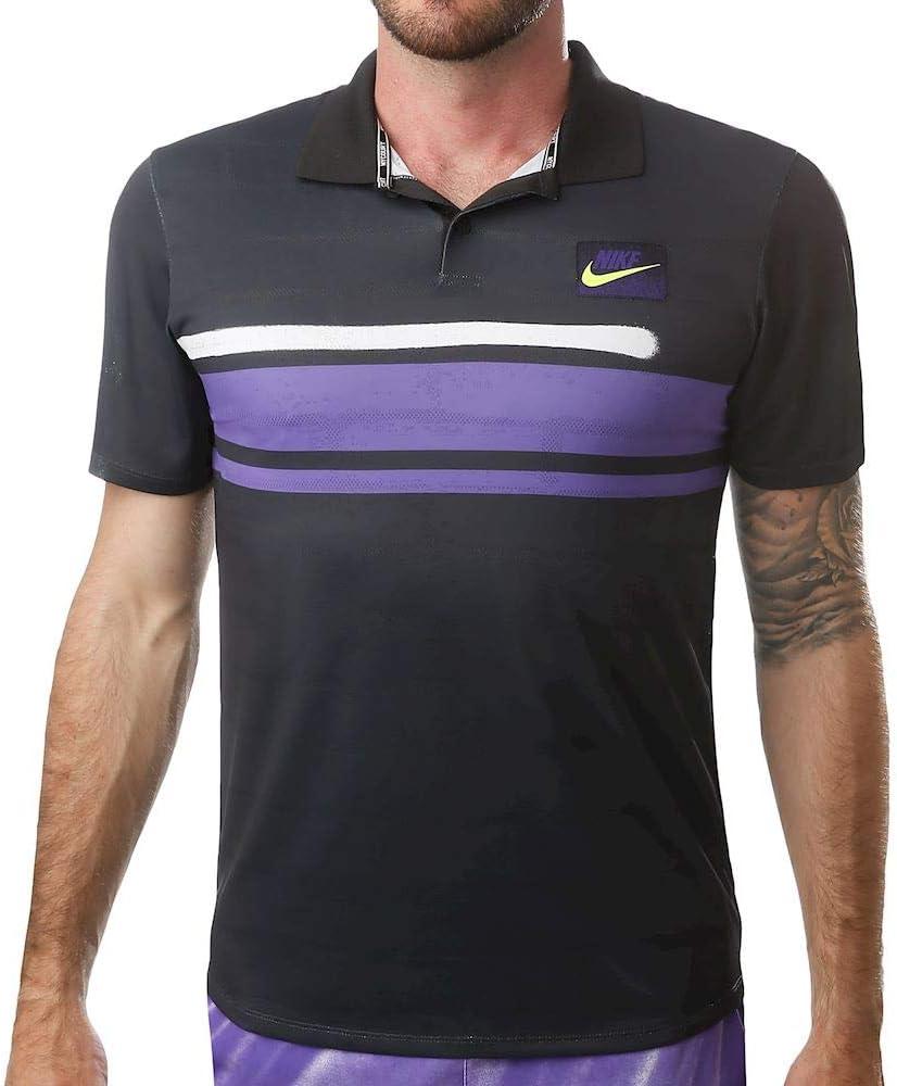Nike M Nkct ADV Polo NY Nt, Hombre, Off Noir, S: Amazon.es ...