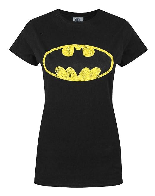 16a430064 DC Comics Batman Mujeres Camiseta  Amazon.es  Ropa y accesorios