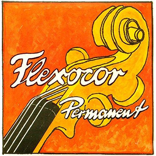 Pirastro Flexocor Permanent 4/4 Violin String Set - Medium Gauge - Ball-End E