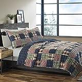 Eddie Bauer 215641 Madrona Cotton Quilt Set, King
