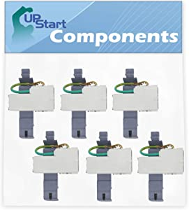 6-Pack 8318084 Washer Lid Switch for Whirlpool, Kenmore & Maytag Washers. Compatible 8318084 Washer Lid Switch for Part Number 8318084, AP6012742, ES8084, PS11745957, TJ90ES8084, WP8318084VP