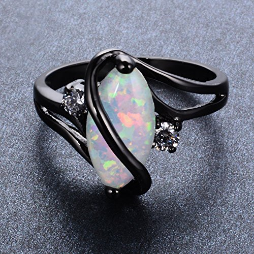 Adeser-Jewelry-Womens-S-Promise-Rings-for-Her-Lab-White-Opal-Engagement-Wedding-Black-Gold-Plated-Womens-Ring-Size-5-11