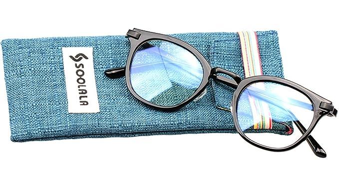 2d7aaae222 Amazon.com  SOOLALA Womens Hot Fashion Cateye Eyeglass Frame Stylish ...