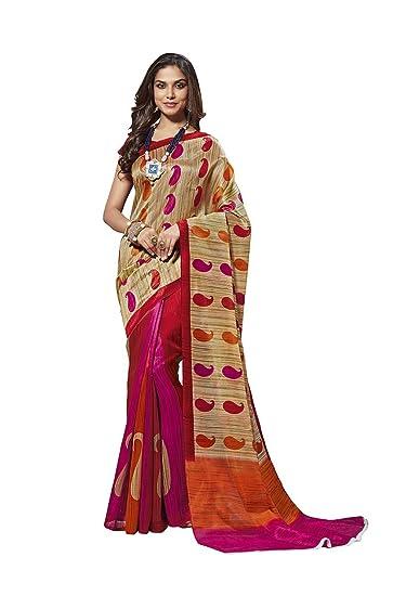 59dec350578caf Ethnicjunction Cotton Silk Saree (Ej1131-3031_Multi-Coloured): Amazon.in:  Clothing & Accessories