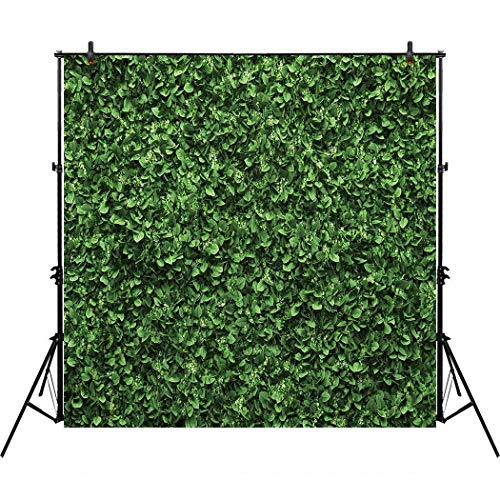 Allenjoy 8x8ft Green Floral Leaves Backdrop for Photo Studio Photography Still Life Grass Leaf Floordrop Pictures Background Summer Spring Party Home Decor Outdoorsy Theme Shoot Props Drop