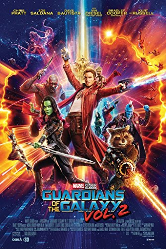 Guardians Of The Galaxy Movie Vol  2 Poster 24In X 36In